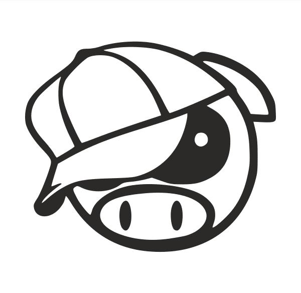 Pig mit Cap