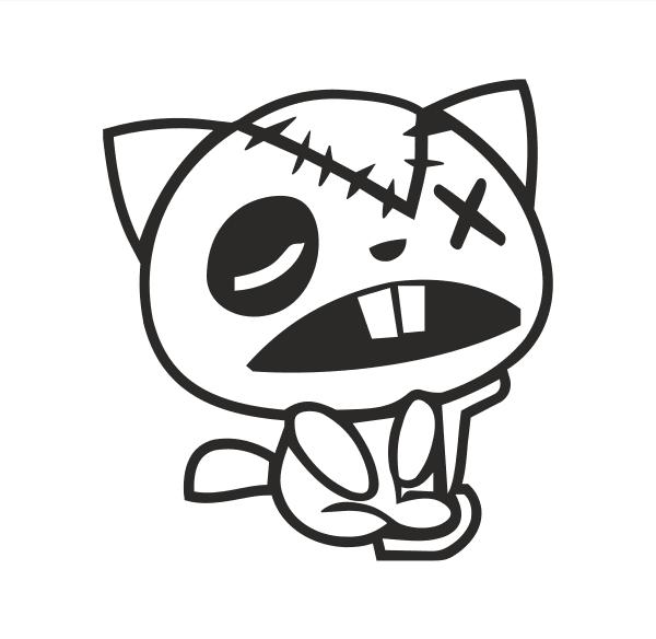Cat Aufkleber