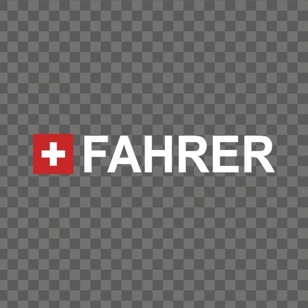 Rally-Flagge Schweiz Aufkleber