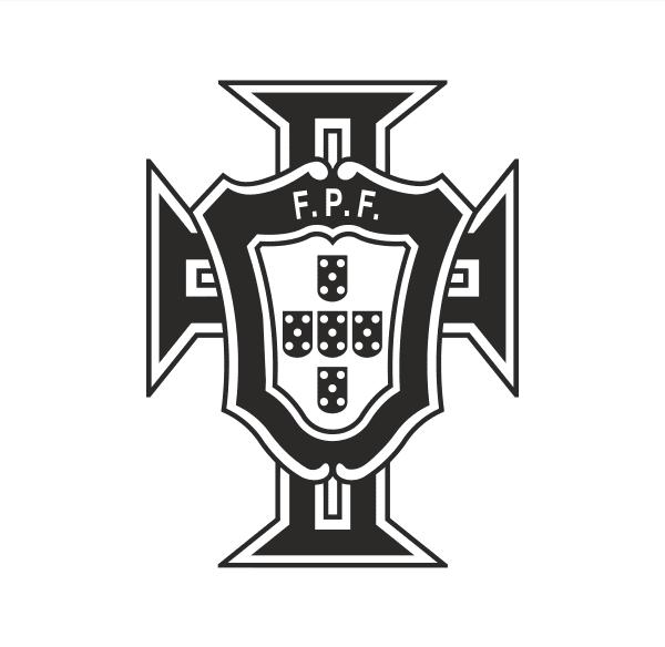 Portugal F.P.F. Aufkleber