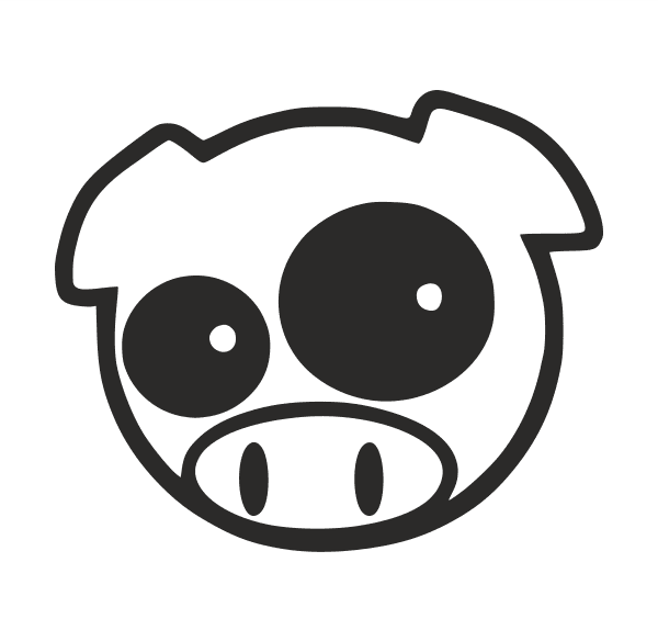 JDM Pig Aufkleber