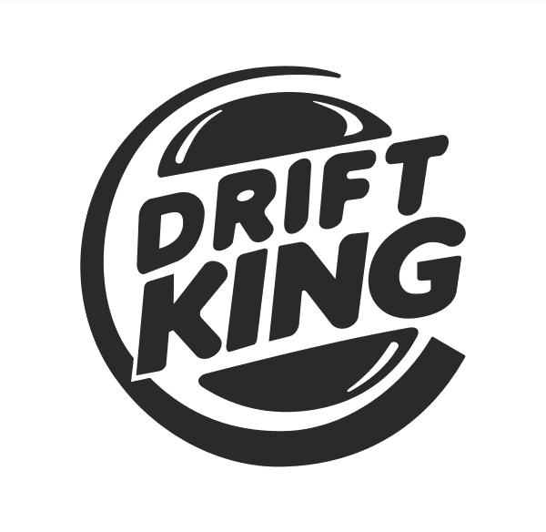 Drift King Aufkleber