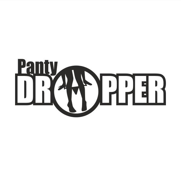 Panty Dropper Aufkleber
