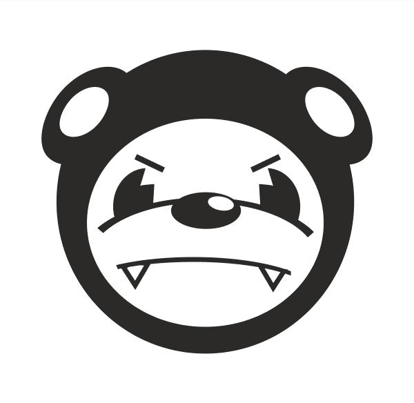 JDM Panda Aufkleber