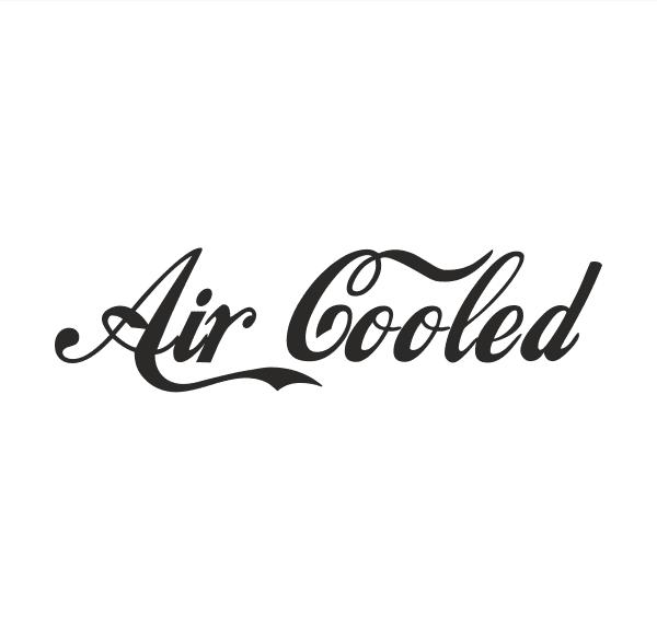 Air Cooled Aufkleber