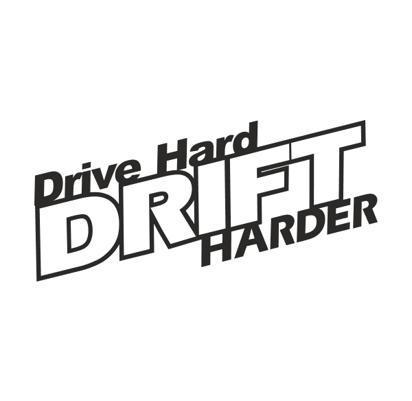 Drive Hard Aufkleber