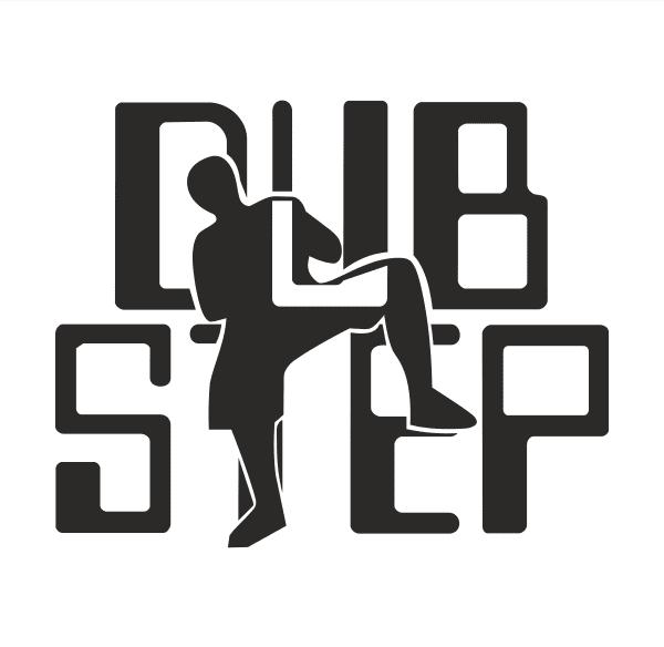 DUB STEP Aufkleber