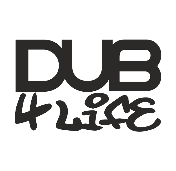 DUB 4 Life Aufkleber