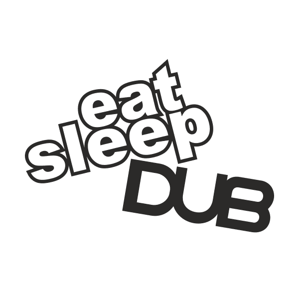 JDM eat sleep DUB Aufkleber