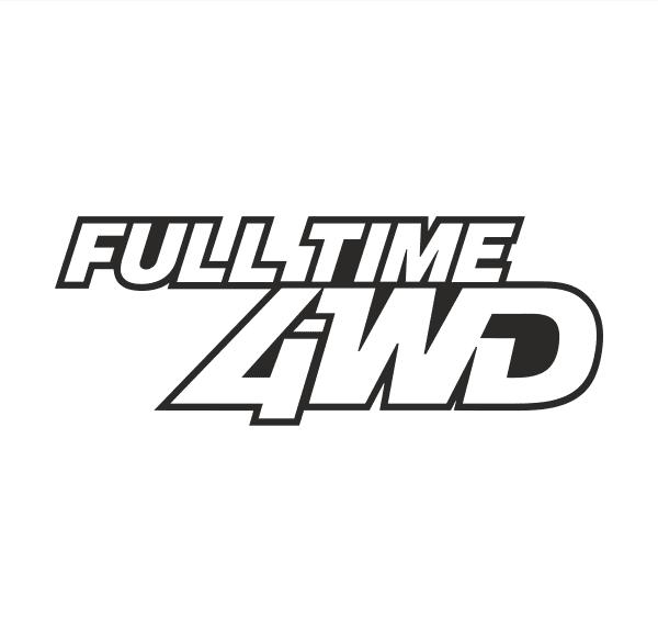 FULL TIME 4WD Aufkleber