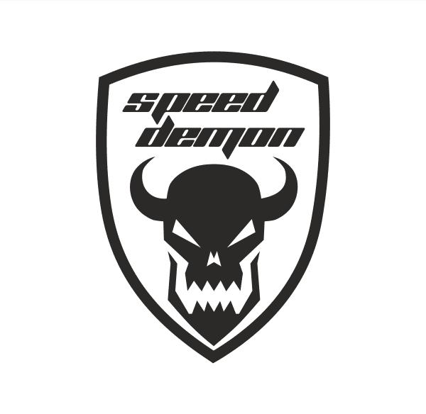 speed demon Aufkleber