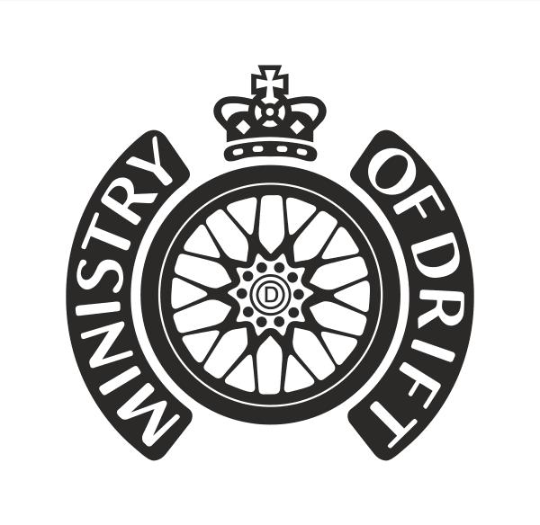 Ministry of drift Aufkleber