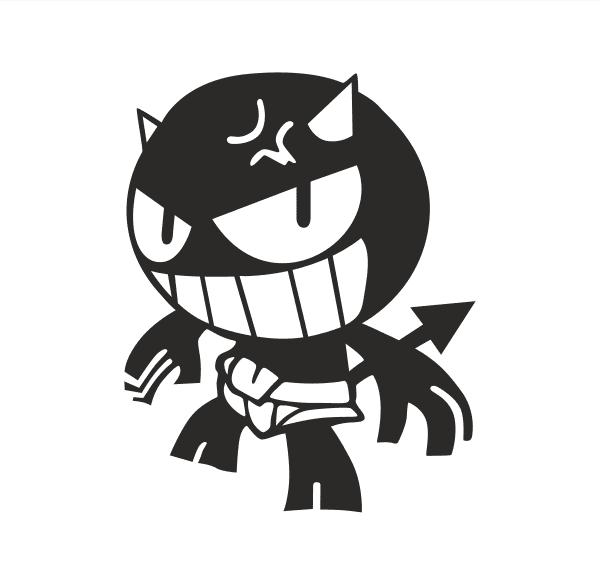 JDM Devil Aufkleber