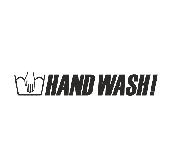 HAND WASH! Aufkleber