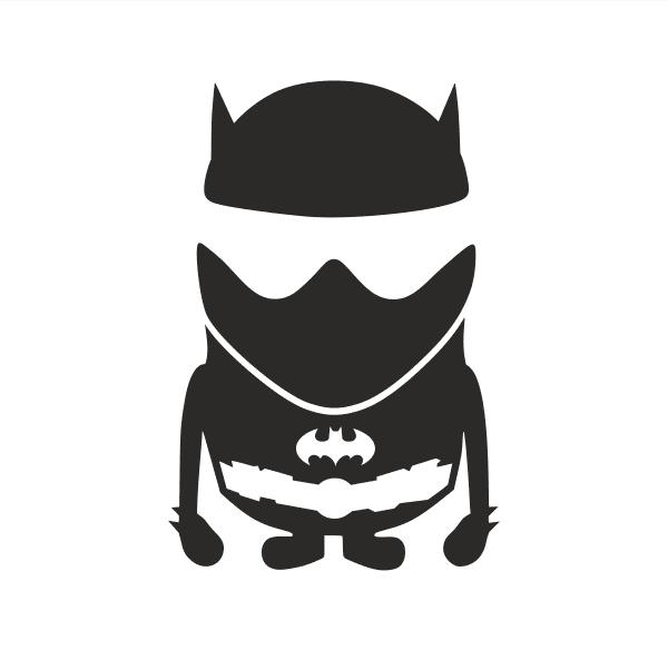 The Batman Stig Aufkleber