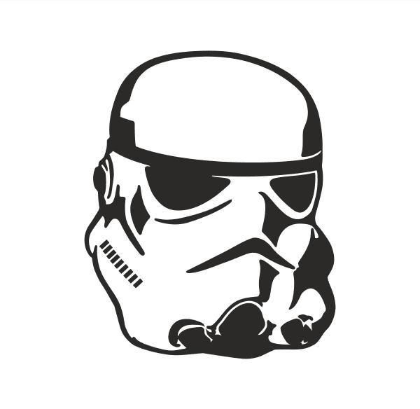 Storm Trooper Aufkleber