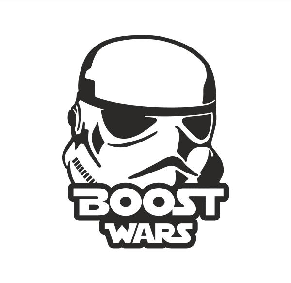 Boost Wars Aufkleber