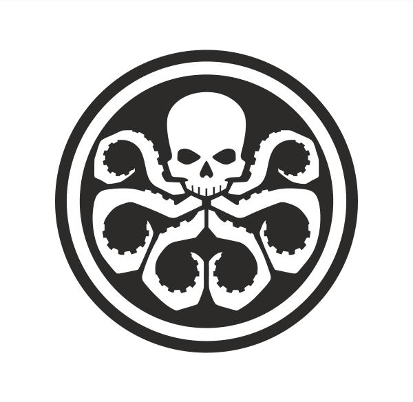 Hydra Aufkleber
