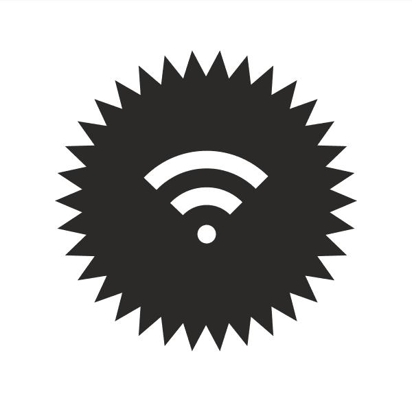Wifi Zone Aufkleber