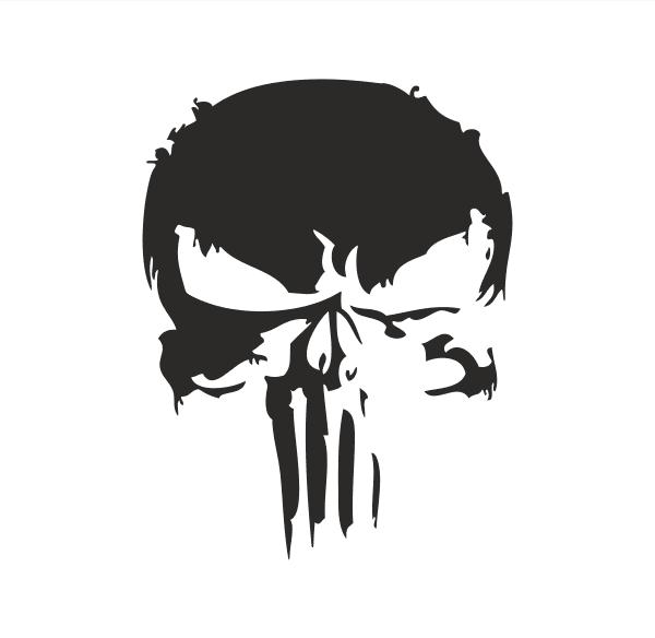 The Punisher Aufkleber