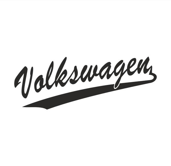 Old VW Aufkleber