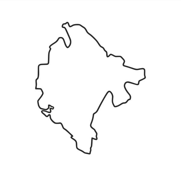 Montenegro Aufkleber