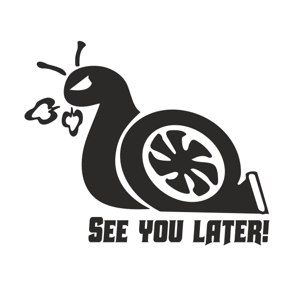See you later! Aufkleber