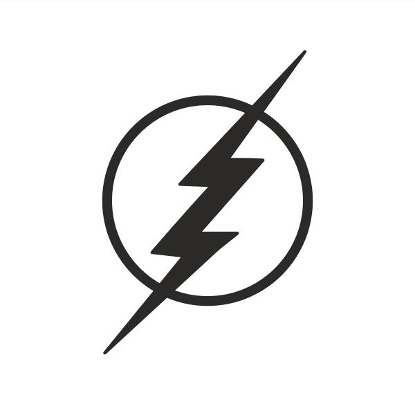 The Flash Aufkleber