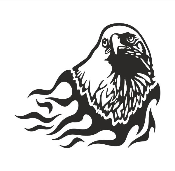Adler Aufkleber