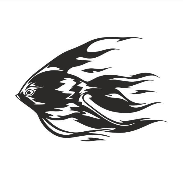 Fisch Aufkleber