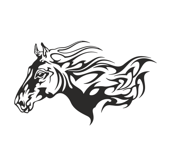 Pferd Aufkleber