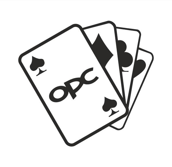 OPC Karten Aufkleber