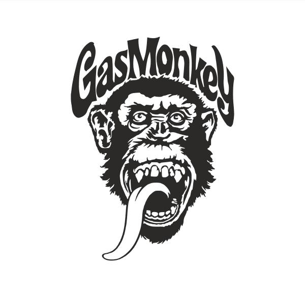 Gas Monkey Aufkleber