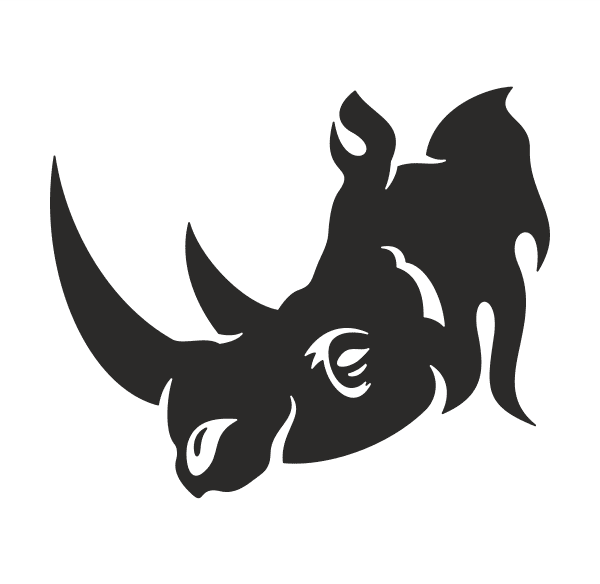 Tribal Animal Aufkleber