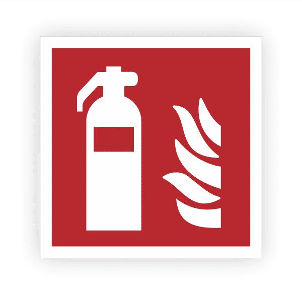 Feuerlöscher Aufkleber