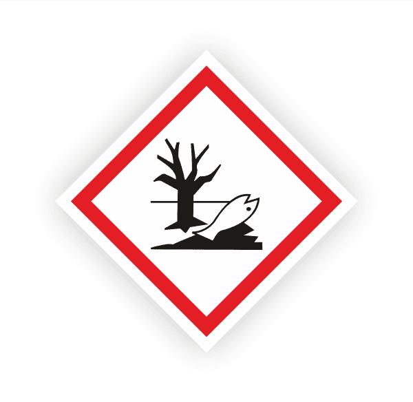 Umwelt (GHS09) | Gefahrsymbol Aufkleber