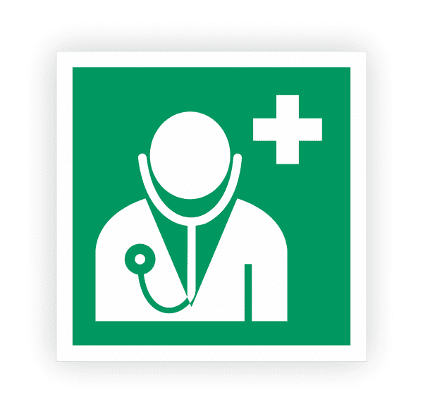 Arzt Aufkleber | Rettungszeichen