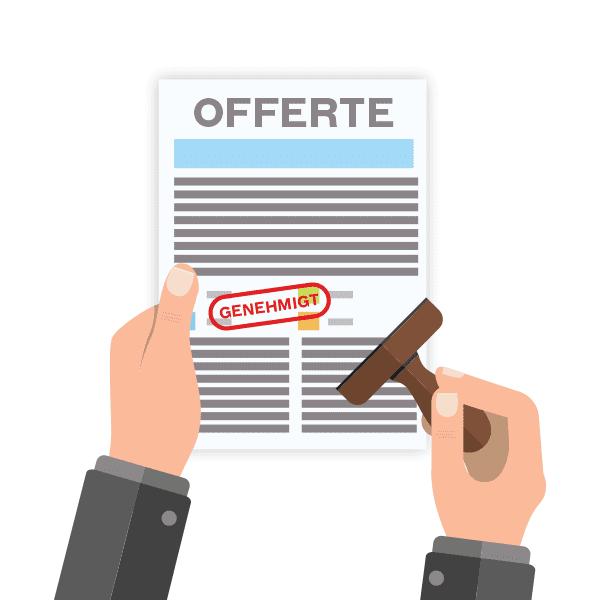 Offerte von CooleSticker.ch online bestätigen