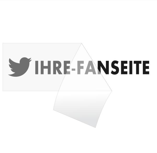 Twitter Fanseiten Aufkleber online bestellen